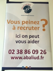 Affiche Recrutement difficile